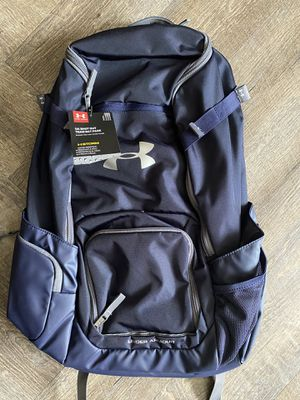 Under Armour UASBT-SOBP2 Shut Out II Team Bat Pack Baseball Softball Backpack - Navy Blue for Sale in Clinton, MD