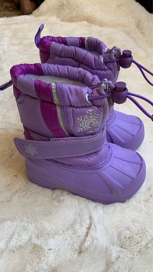 Girls Koala Kids purple snow boots for Sale in North Salt Lake, UT