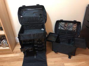 Sunrise- Pro Makeup Case on Wheels for Sale in Brookline, MA