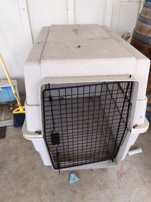Large dog crate for Sale in Hollister, CA