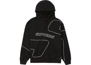 Supreme Big S Hoodie Hooded Sweatshirt Black L for Sale in Toms River, NJ