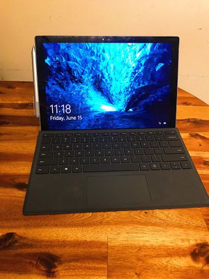Microsoft Surface Pro 4 Touch Screen Laptop Windows 10 Computer Tablet Gaming PC (128 GB, 4 GB RAM) for Sale in Pittsburgh, PA