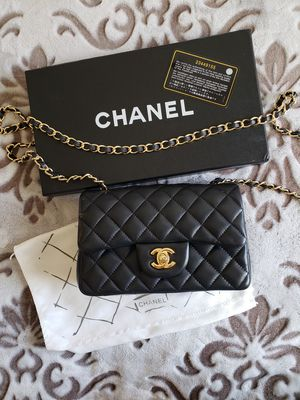 Chanel Lambskin Quilted Mini Rectangular Flap Bag for Sale in Beverly Hills, CA