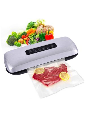 Vacuum Sealer Machine,Automatic Food Saver Vacuum Air Sealing System For Food Preservation with Built-in Cutter,Portable Sealer with 10 Vacuum Sealer for Sale in Daly City, CA