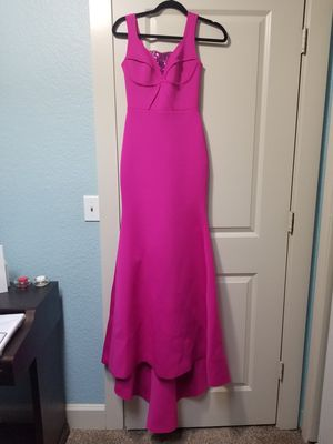 Bebe Hot Pink Long Dress Size XXS for Sale in Woodburn, OR
