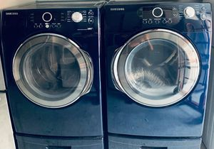 Samsung VRT GAS Front Load Washer/Dryer Set (Pedestals Included)-PRICE IS FIRM for Sale in Lilburn, GA
