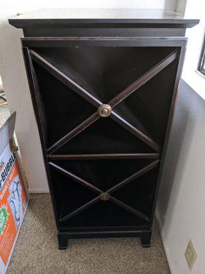 Storage Cabinet (wine bottles) for Sale in Altadena, CA