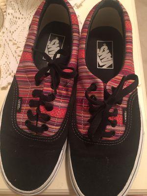 Vans shoes women 8.5 men 7 for Sale in Riverside, CA
