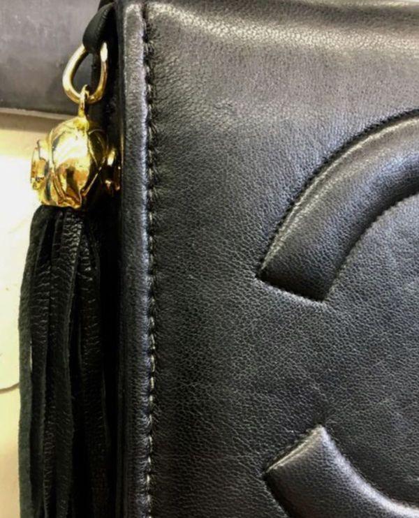 Vintage Black Chanel Bag