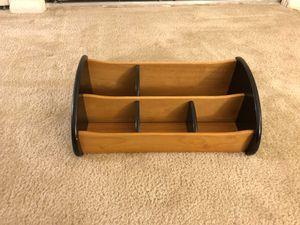Wooden organizer (5 compartments) for Sale in Reston, VA
