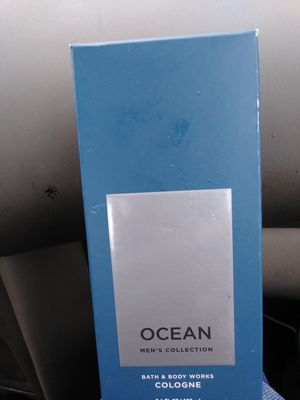 Bath and body works cologne 3.4 ozs. Fragrances ocean,fresh water, and teakwood for Sale in Columbus, OH