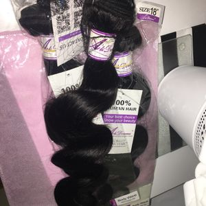3 Body wave bundles (18inches) for Sale in Rockville, MD