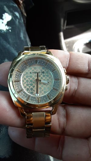COACH WATCH BRAND NEW never used for Sale in Fullerton, CA