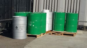 55 gallon metal drum $ 15.00 each for Sale in Fontana, CA