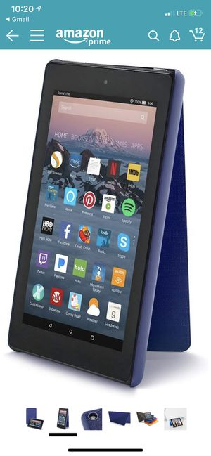 7th generation amazon fire tablet cases sold separately for Sale in Cleveland, OH