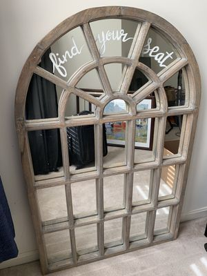 Wedding seating mirror (writing would wash off) for Sale in Vienna, VA