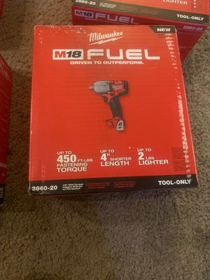 Milwaukee 1/2 impact wrench for Sale in Fresno, CA