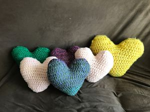 Valentine's day heart pillow for Sale in Somerton, AZ