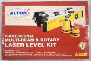 Alton Pro Multi-Beam & Rotary Laser Level Kit for Sale in Spokane, WA