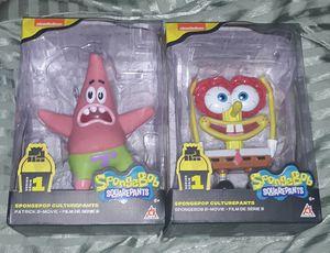 Spongepop & Patrick Action Figures for Sale in Fort Washington, MD