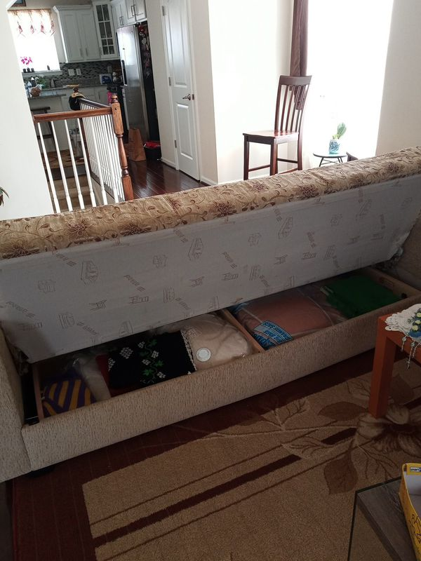Sofa ,bed and storage