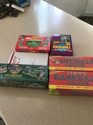 Vintage - Wax Era Unopened Baseball Card Box's OBO/Accepting Barter for Sale in Vancouver, WA