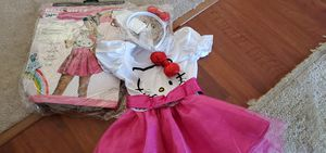 HELLO KITTY GIRLS COSTUME NEW SIZE 5 for Sale in Streamwood, IL