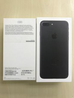 iPhone 7 Plus, Black series for Sale in Index,  WA