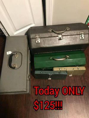 Huge antique and vintage snap-on sk Craftsman tool and toolbox lot for Sale in Greer, SC