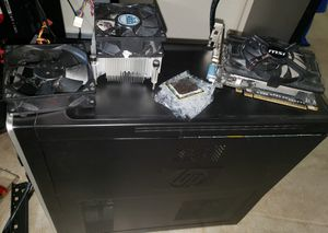 PC Components, Fan, Cpu Cooler, Cpu, Psu, Case, Pci adapters, and Optical Drives, NO MOBO, RAM, OR HARDDRIVE) WILL NEGOTIATE for Sale in Pflugerville, TX