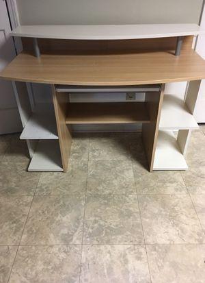 Wood desk for Sale in Tucker, GA