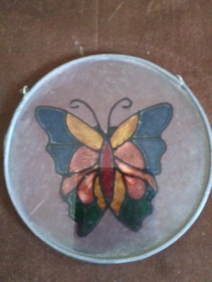 Small cute stain glass butterfly for Sale in Hawthorne, CA