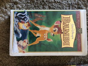 Disney Bambi VHS for Sale in San Diego, CA