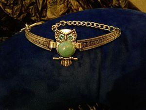Turquoise owl bracelet for Sale in Denver, CO