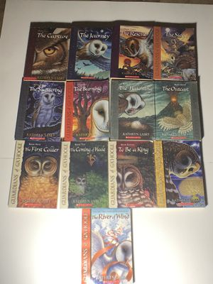 Lot of 13 Guardians of Ga'Hoole Set 1-13 by Kathryn Lasky Scholastic Series for Sale in Glendale, AZ