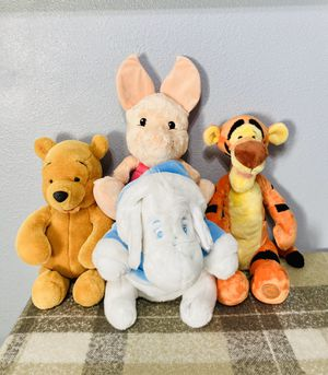 Disney Winnie the Pooh plush lot for Sale in Los Angeles, CA