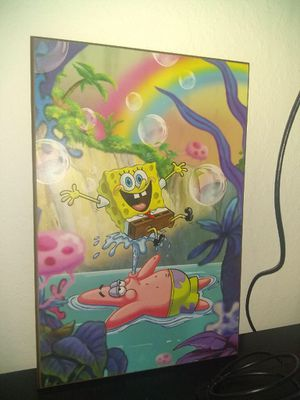 Sponge-bob picture and nightmare before Christmas for Sale in Homestead, FL