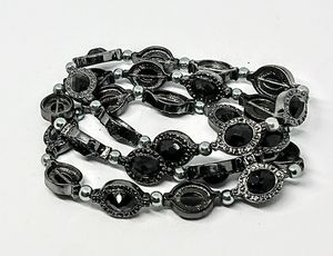 3 Layer Black Beads Fashion Bracelet for Sale in Colorado Springs, CO
