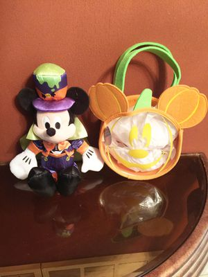 Disney vampire Mickey with glow in the dark candy bag. for Sale in Fort Worth, TX