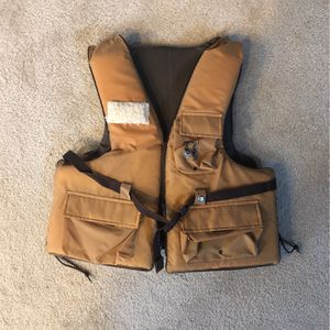 American Cup Fishing Floatation Vest for Sale in University Place, WA