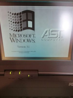 AST Bravo NB 4/25s Vintage Notebook Laptop for Sale in Tampa, FL