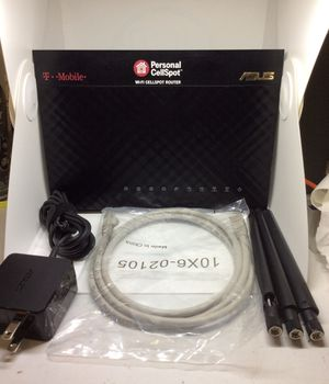 Asus T-Mobile AC-1900 WiFi Cell spot Router for Sale in West Park, FL
