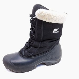 Sorel Womens Size 8.5 Cumberland 200G Thinsulate Waterproof Snow Winter Boots Black , Pre Owned, $45! for Sale in Seattle, WA