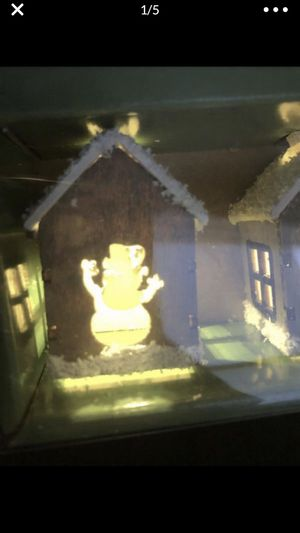 Led Christmas lights snowman house winter sting lamp for Sale in Portland, OR