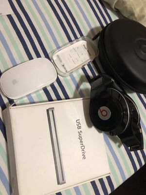 magic mouse, usb super drive, headphone sold out for Sale in Los Angeles, CA