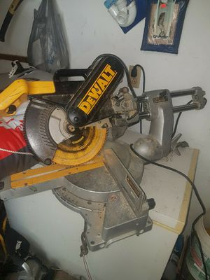 12 inch sliding arm chop saw for Sale in Nettie, WV