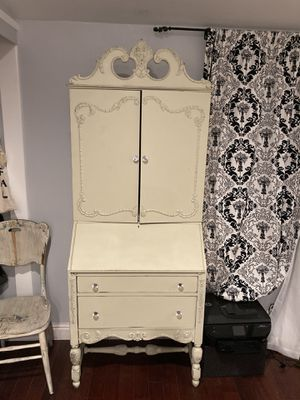 Gorgeous antique armoire/ desk for Sale in Watsonville, CA