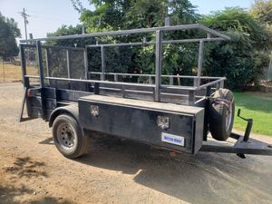 Trailer 5×10 with lumber rack for Sale in Reedley, CA