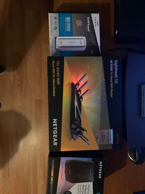 Netgear router, extender, and Arris modem combo! for Sale in Baldwin Park, CA