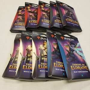 Mtg 💜Throne of Eldraine 💜new packs $7 each ,price cset for Sale in Bellflower, CA